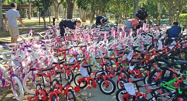 Bicycles for Underprivileged Children