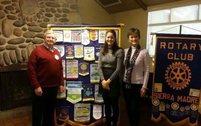 Larissa Phillips – Presentation to the Sierra Madre Rotary Club