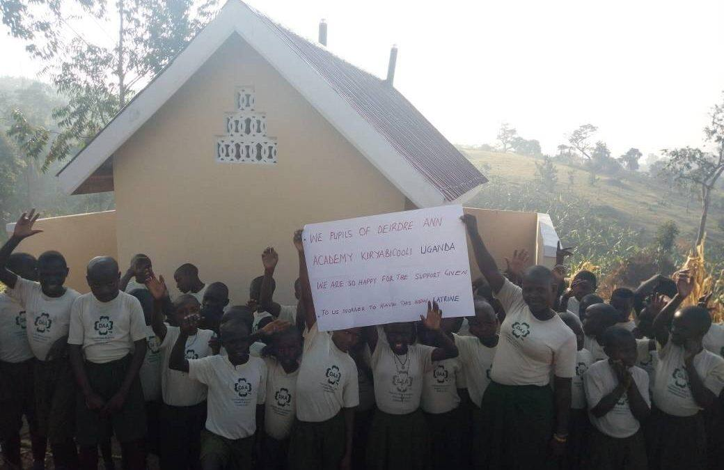 Girl's Latrine for School in Kabaale, Uganda Completed