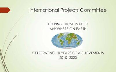 International Projects Committee Presentation